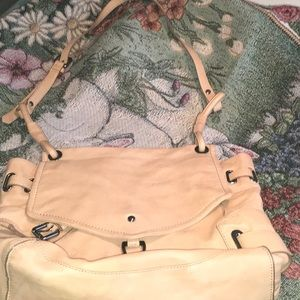 Leather tote-with dust bag